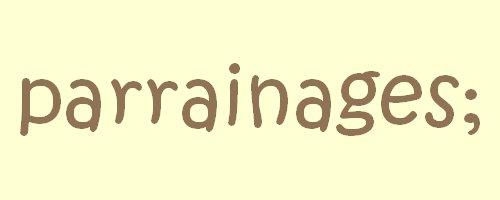 parrainages
