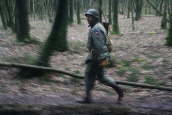 On the footsteps of the 82nd US Airborne 2011 in Manhay - 2 -