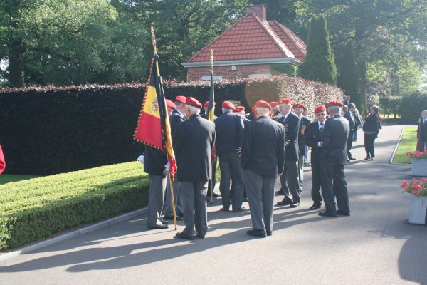 Memorial Day Ardennes Cimetery Neuville-en-Condroz