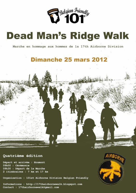 Dead Man's Ridge Walk 2012
