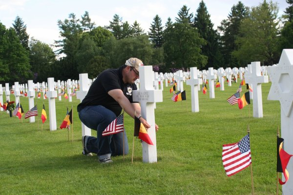 Memorial Day 24-05-2014 Henri-Chapelle - 20 -