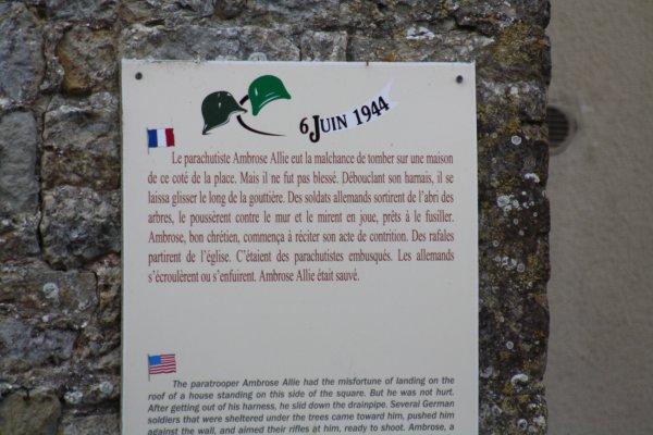 Normandie 2014 : Sainte Marie du Mont  -  2 -