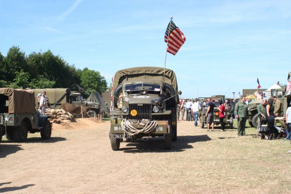 Normandie 2014 :  Camp Arizona