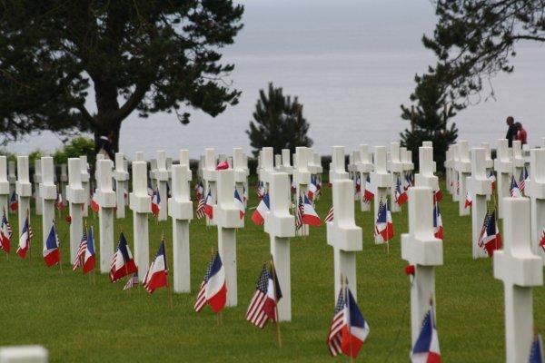 Normandie 2014 : Normandy American Cemetery :  Colleville-sur-Mer
