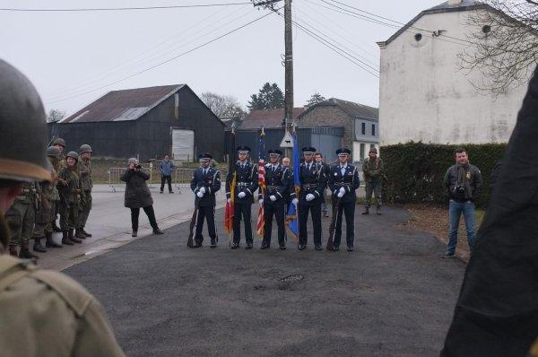 Houmont : Marche de la 17th US Airborne Division