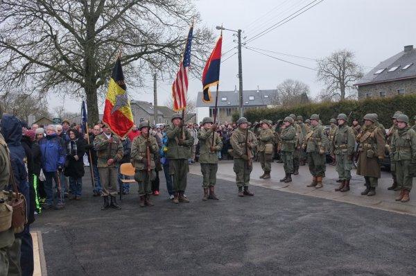 Houmont : Marche de la 17th US Airborne Division (3)