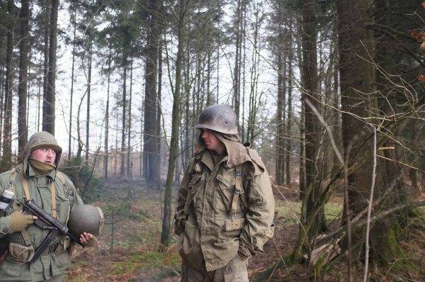 Houmont : Marche de la 17th US Airborne Division (4)