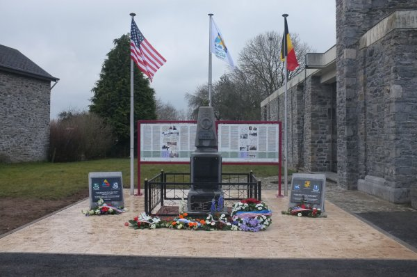 Houmont : Marche de la 17th US Airborne Division (6)