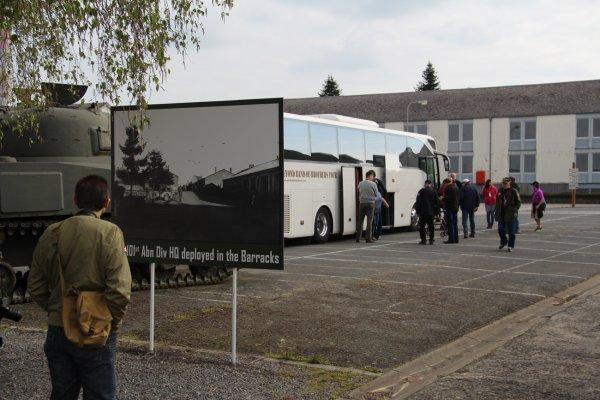 Visite de Vétérnan US à Bastogne 17-05-216