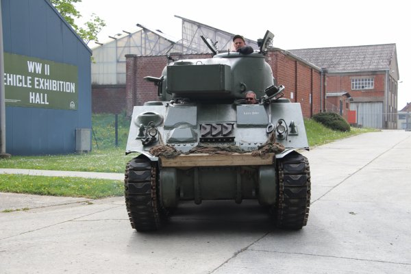 Visite de Vétérnan US à Bastogne 17-05-216 (12)