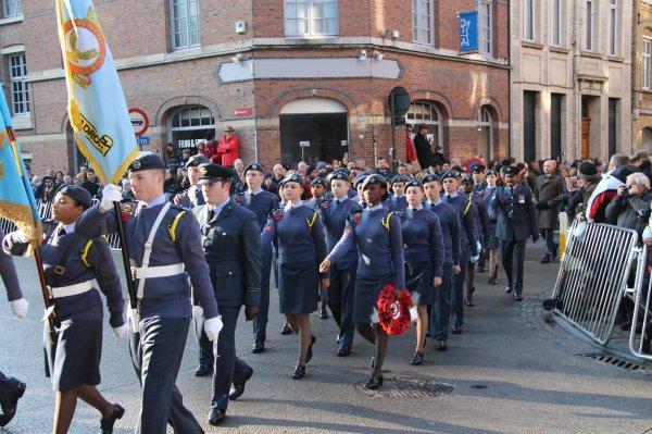 Cérémonies du 11 novembre : Ypres : Porte de Menin - 7 -