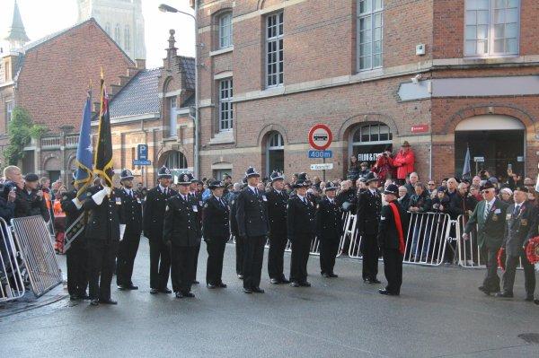Cérémonies du 11 novembre : Ypres : Porte de Menin - 9 -