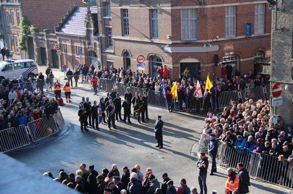 Cérémonies du 11 novembre : Ypres : Porte de Menin - 14 -