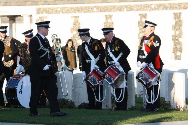 Cérémonies du 11 novembre :Tyne Cote - 5 -