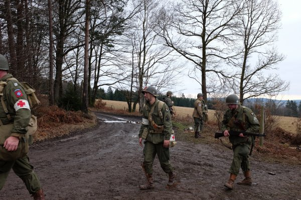 In the Footsteps of the 82nd AB Division - 9  -