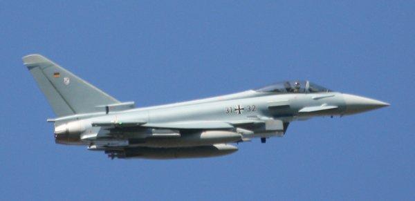 Luftwaffe dans le ciel belge