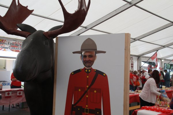 Visite au SHAPE : Le Canada a 150 ans - 11 -
