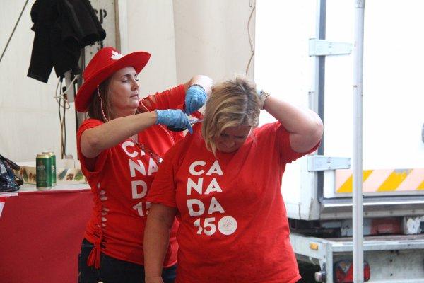 Visite au SHAPE : Le Canada a 150 ans - 12 -