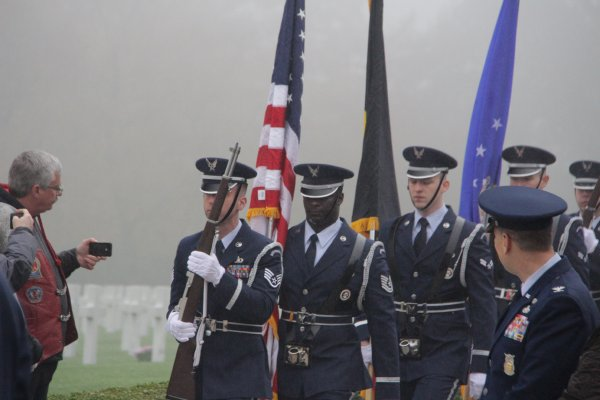Veterans Day Henri-Chapelle American Cemetery - 5 -