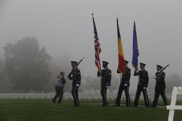 Veterans Day Henri-Chapelle American Cemetery - 7 -