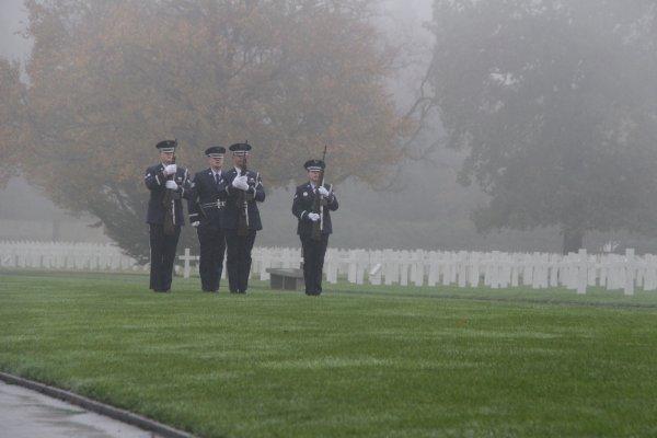 Veterans Day Henri-Chapelle American Cemetery - 8 -