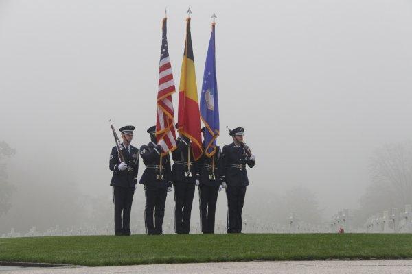 Veterans Day Henri-Chapelle American Cemetery -10 -