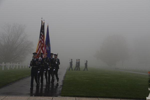 Veterans Day Henri-Chapelle American Cemetery -13 -