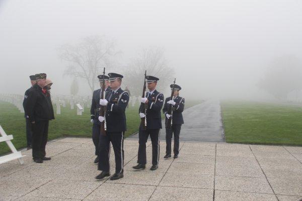 Veterans Day Henri-Chapelle American Cemetery -15 -