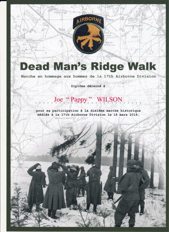 Dead Man's Ridge Walk 2018    FIN