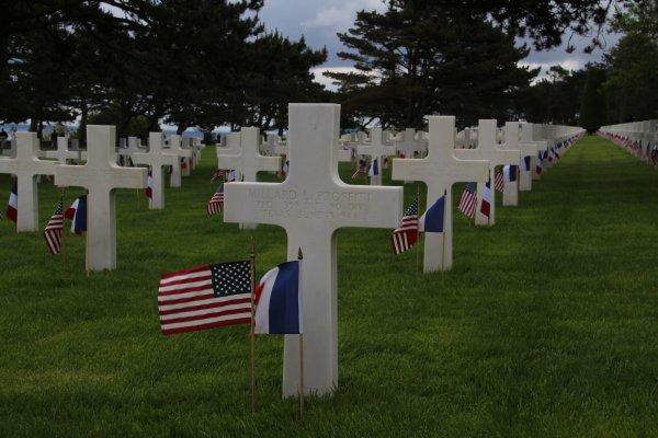 Memorial Day 26 mai 2019, Normandy American Cemetery - 10 -