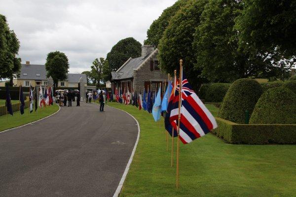 Memorial Day 26 mai 2019, Brittany American Cemetery  - 2 -