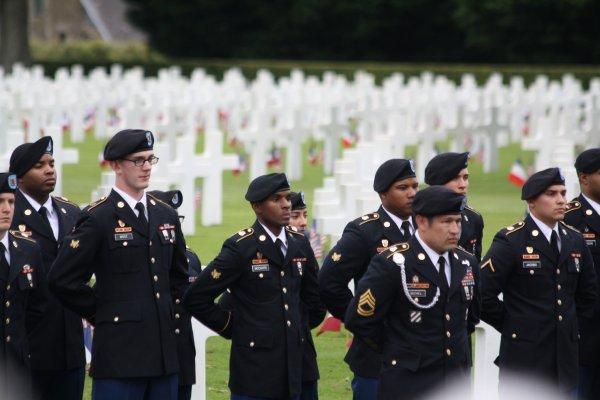 Memorial Day 26 mai 2019, Brittany American Cemetery - 4 -