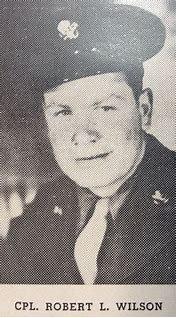 Caporal Robert L. Wilson