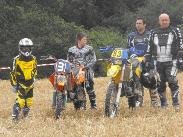 mon equipe de cross de moto