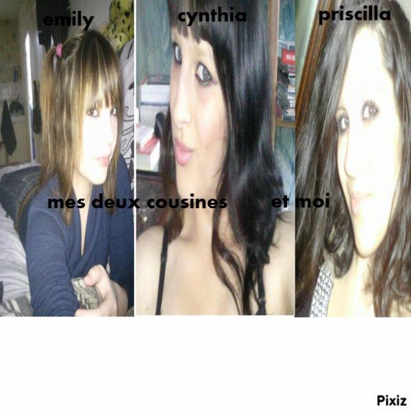 mes cousines et moi