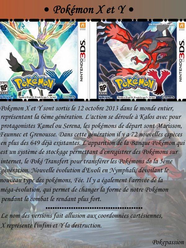 Pokémon X et Y