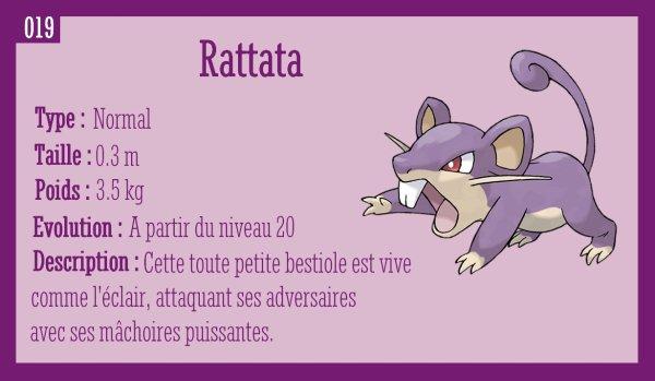 Rattata et Rattatac