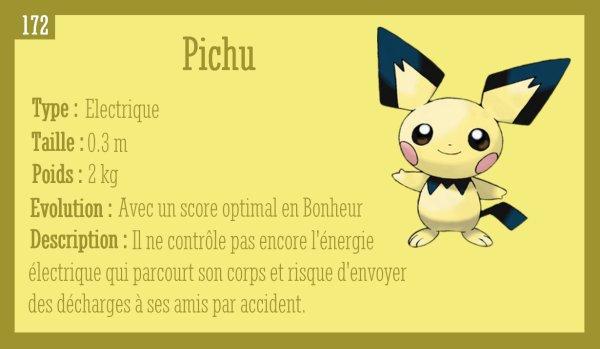 Pichu, Pikachu, Raichu et Raichu d'Alola