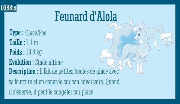 Goupix d'Alola et Feunard d'Alola