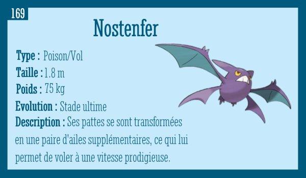 Nosférapti, Nosféralto et Nostenfer