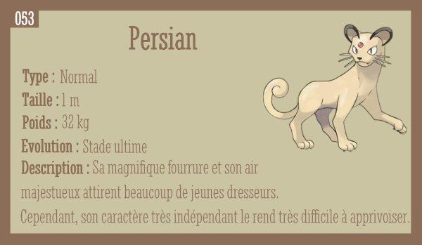 Miaouss et Persian