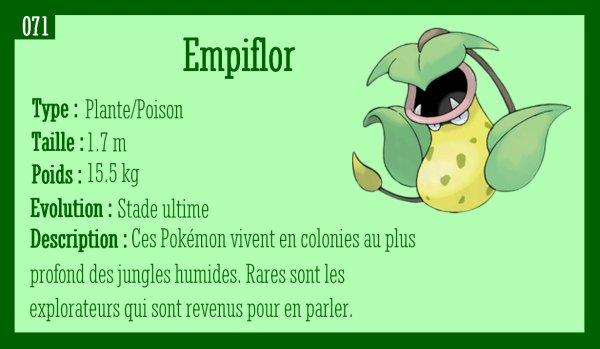 Chétiflor, Boustiflor et Empiflor
