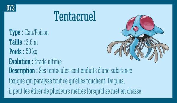 Tentacool et Tentacruel