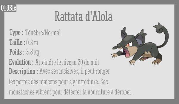 Rattata d'Alola et Rattatac d'Alola