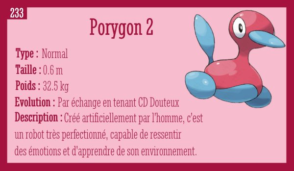 Porygon, Porygon 2 et Porygon-Z