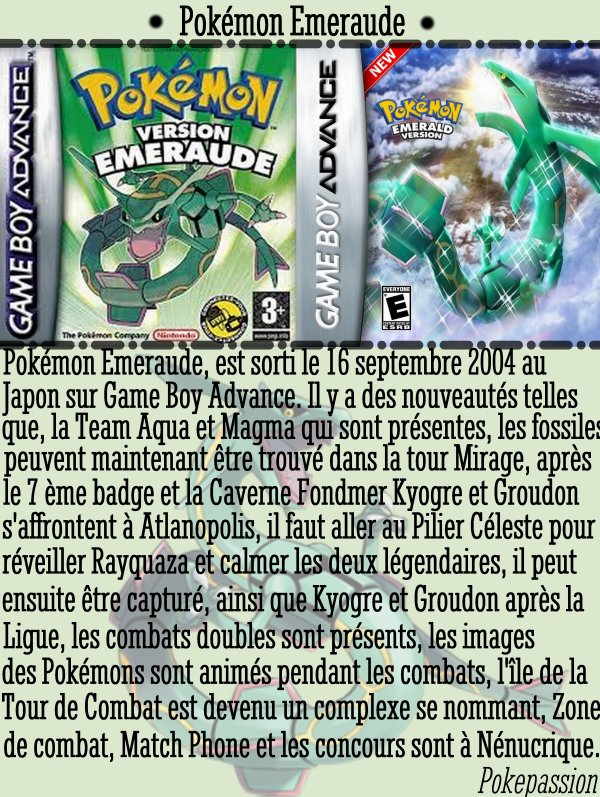 Pokémon Emeraude