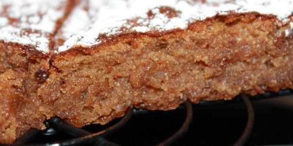 FONDANT au CHOCOLAT avec du MASCARPONE et des AMANDES en poudre