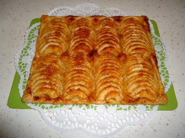Une tarte fine aux pommes !