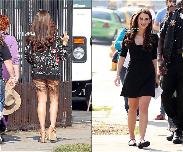 19/01/11 : Jessica était sur le tournage de 90210 Beverly Hills tournant une scène en maillot de bain . Jess est ravissante sur ces photos , c'est bien elle a un peu grossi , mais pas négative au contraire c'est postive pour elle et son image  ..