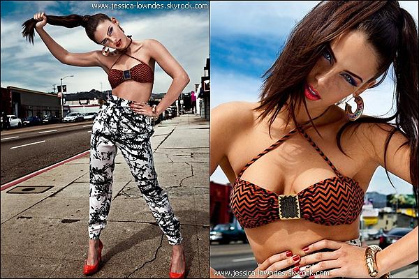. Découvrez un récent photoshoot très coloré de Jessica datant de 2011 ._______Tu aimes ces clichés ? .